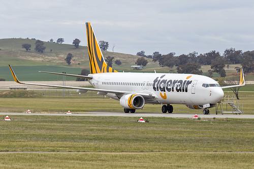 Tigerair Australia (VH-VOR) Boeing 737-8FE(WL) at Wagga Wagga Airport | by Bidgee
