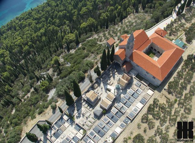 Orebic -cemetery and abbey