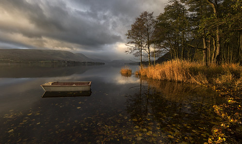 sunrise lakedistrict lakes ullswater cumbria