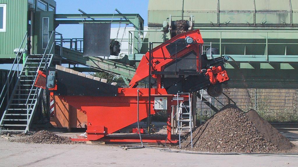 Bekannt Bauschutt recycling in Anlage integriert - Leichstoffabsch…   Flickr JL75