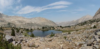 0626 Panorama view north with a small pond from high in the Bubbs Creek drainage on the John Muir Trail | by _JFR_