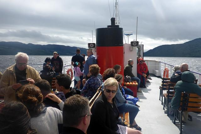 Cruising on Loch Ness