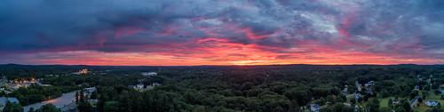 plaistow sunrise twilight test nh newhampshire aerial eva mullenlowegroup lowlight
