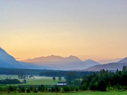 sunrise alps alpen tirol austria österreich iphonex obsteig miemingerplateau berge mountains mountain