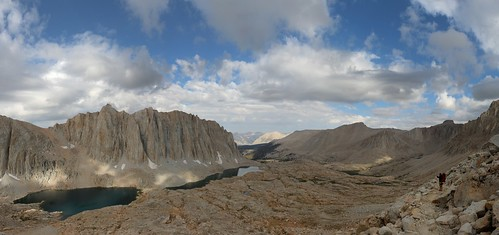 1329 We climbed higher on the John Muir Trail toward Trail Crest as the cumulus clouds grew   by _JFR_