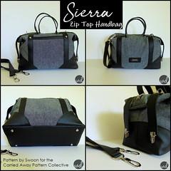 Sierra Zip Top Handbag