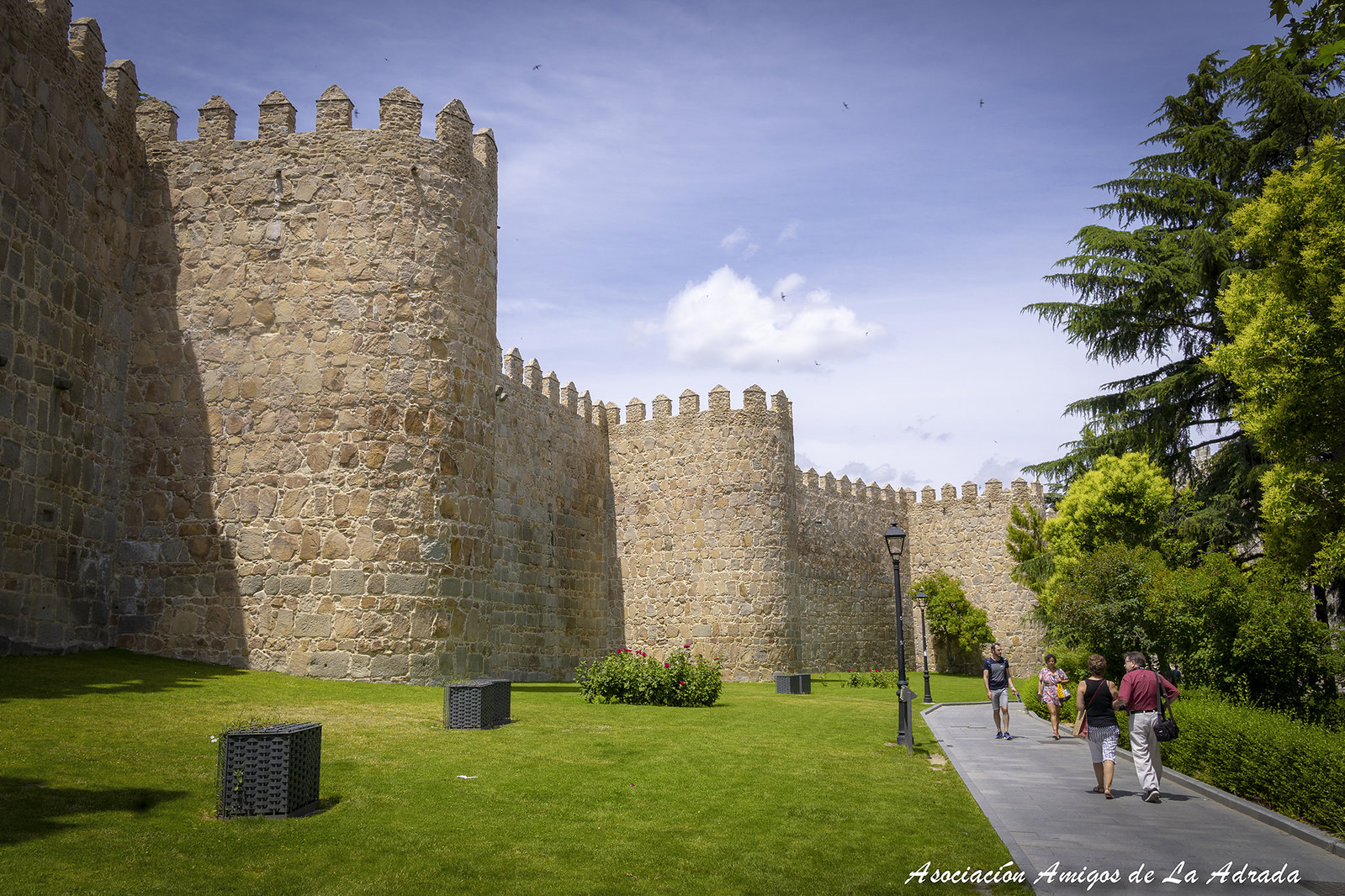 Visita cultural de la Asociación de Amigos de La Adrada a Ávila