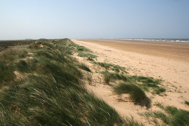 The coast west of Brancaster