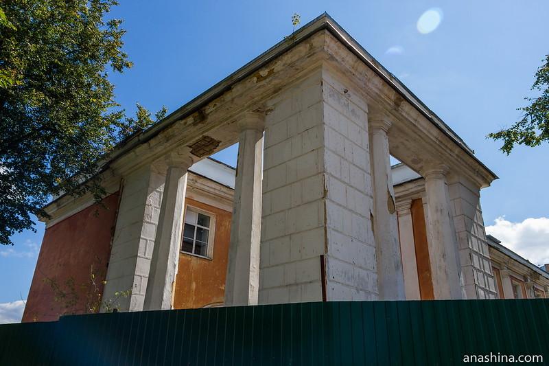 Руины Тверского речного вокзала