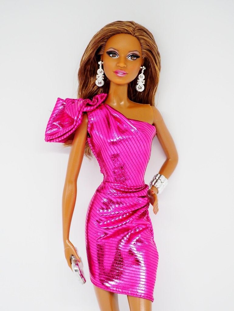 Barbie The Look Pink Gown Barbie Doll
