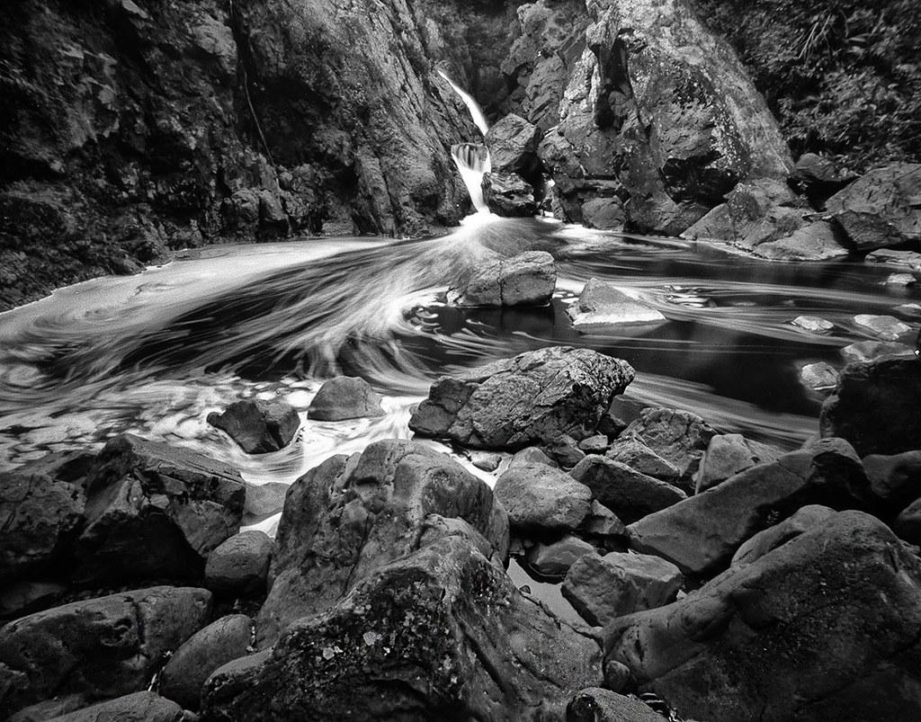 Gabbro Falls, Black River, Gogebic County, MI