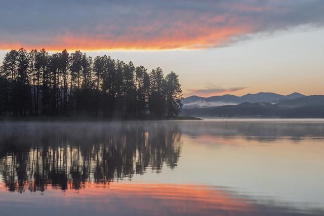 Sheridan Lake Sunset Colors