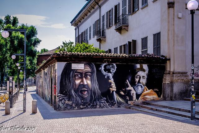 History of Christianity on street art