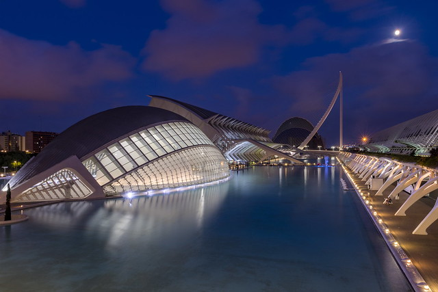 Calatrava by night
