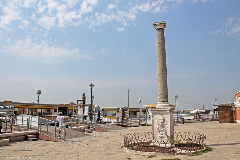Colonna Romana, Murano