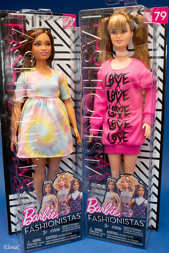 Barbie Fashionistas n. 77 e n. 79 | by EleC [mickred]