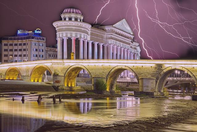 Makedonya Üsküp Taşköprü