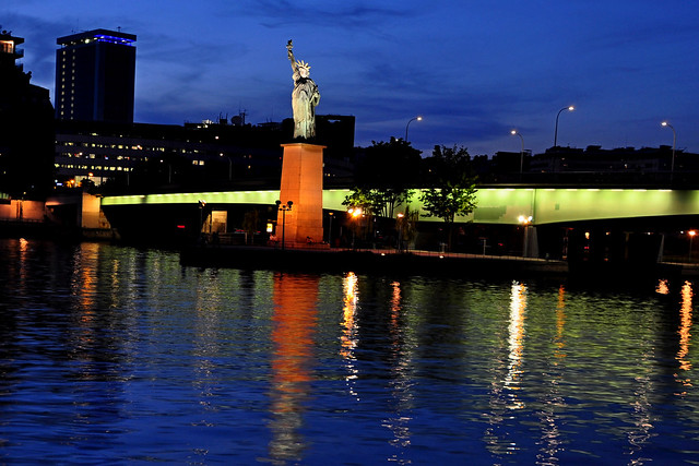 The Statue of Liberty in Paris