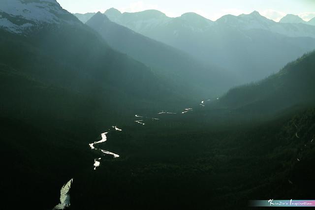 Silver Flow, Glacier National Park *A Beautiful Nature*