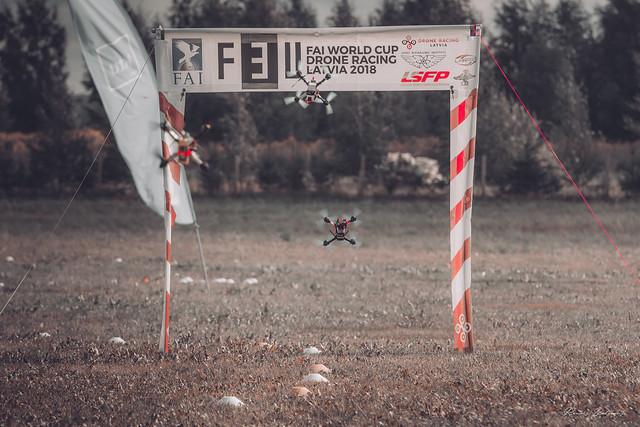FAI f3U 2018 World Cup Latvia Drone Racing