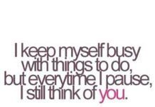 Love Love Quotes For Her I Keep Myself Busy With Things Flickr