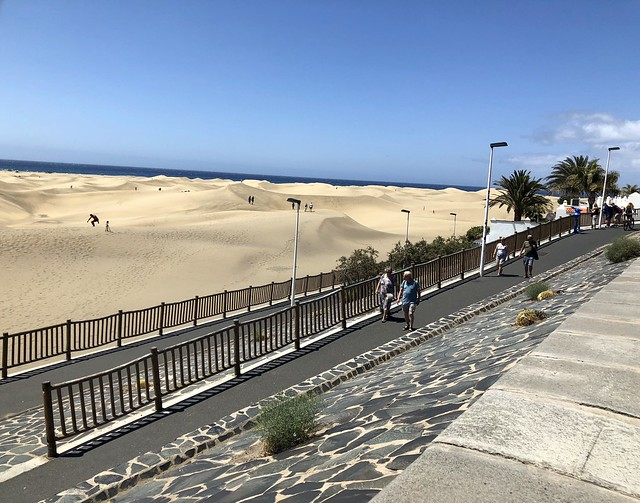 Gran Canaria - Dunes of Maspalomas in the summer