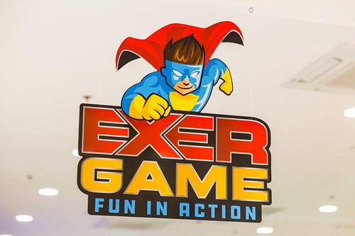 EXERGAME fun in action