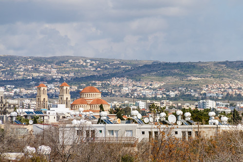 architecture building city cloudsky cyprus day holiday outdoor paphos sky tample tourism travel vacation view