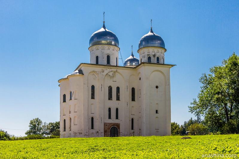 Георгиевский собор в Юрьеве монастыре, Великий Новгород