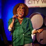 Mon, 09/07/2018 - 8:28pm - Deva Mahal and her band at City Winery in New York City, 7/9/18. Hosted by Rita Houston. Photo by Gus Philippas/WFUV