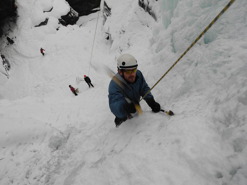 Cogne has some great venues for those of you wanting to take the first steps into the world of ice climbing.