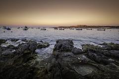 Sunset over St Pauls Bay