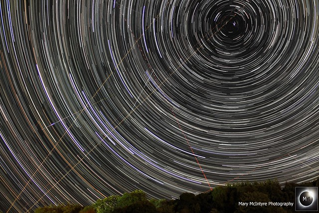 2hr 3min Star Trails 10th/11th August 2018