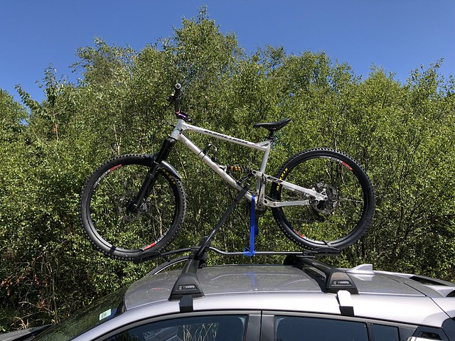 Stretching the limits of a Thule 598