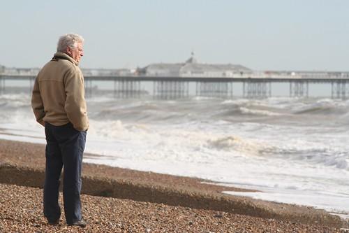 Brighton beach and East Pier | by Linda Cronin