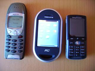 Nokia 6210, Neo1973, SonyEricsson k750i | by Hrwandil