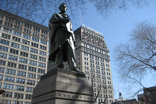 NYC - Union Square: Abraham Lincoln Statue | by wallyg