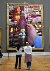 Sausage shaped like a beer bottle, 2006. | by jkottke