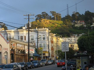 cole valley / tank hill from below | by sloanro