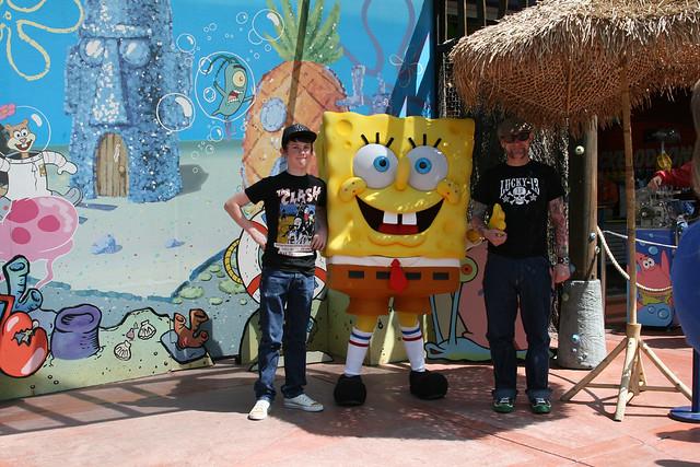 ...a selection of spongebob shots...