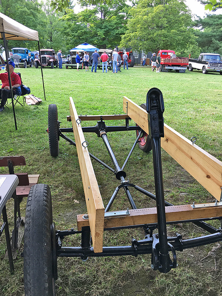 Homemade Farm Wagon Partially Finished Tractor Towable Far Flickr