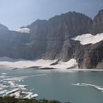 Upper Grinnell Lake, Grinnell Glacier, and Salamander Glacier