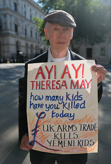 Theresa May - how many children have you killed today ?   by alisdare1