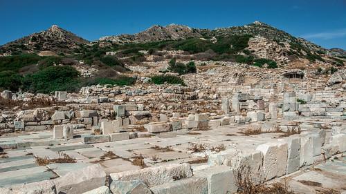 knidos turkey datça greek hellenistic hellenic cinidus ancient historical history historic theatre byzantine statuedemeter demeter aphrodite caria ngc