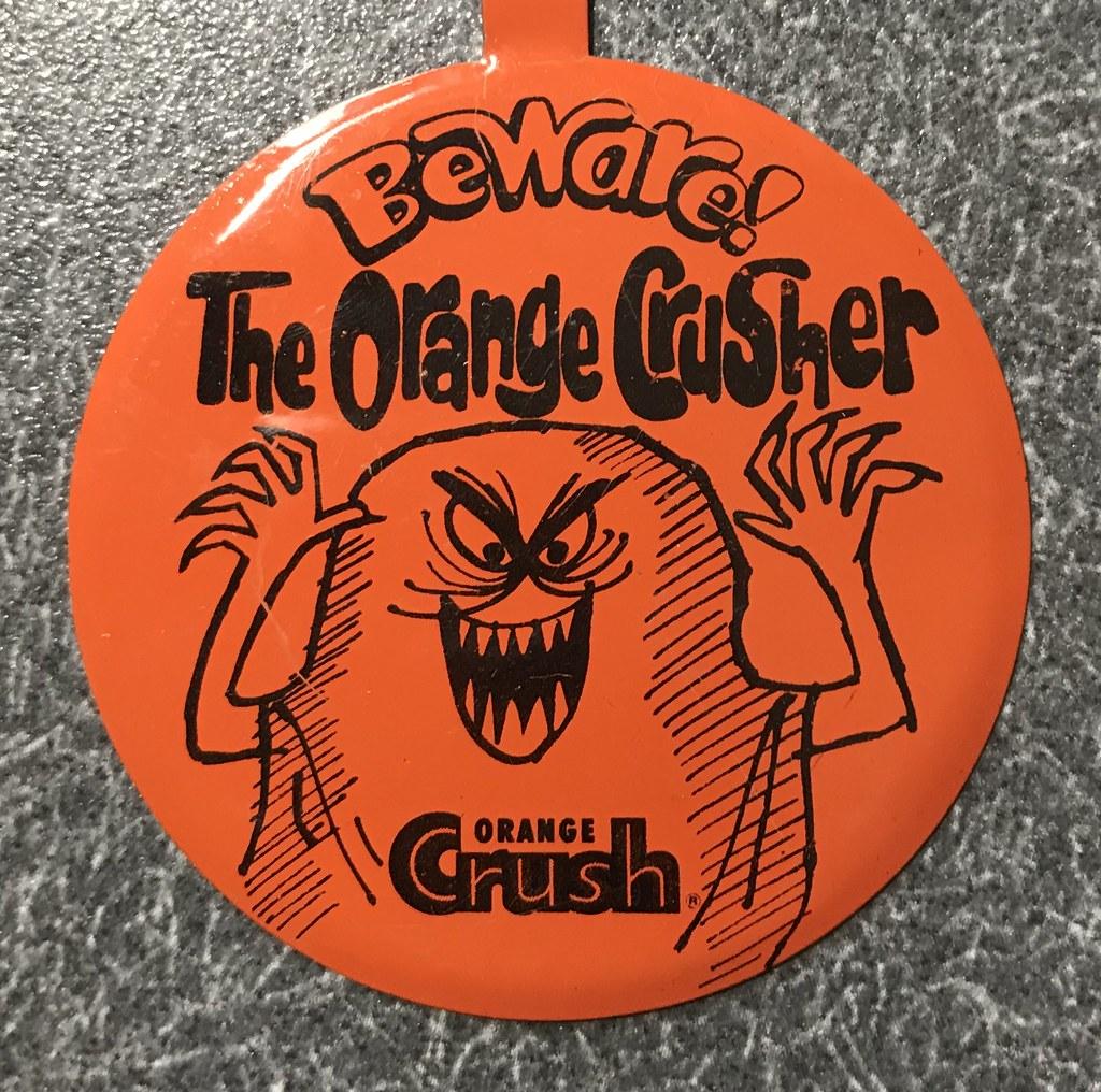 Vintage Crush Orange Soda Tab Pin Crusher | Gregg Koenig