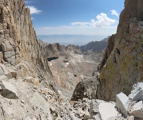 1506 Looking east through a cleft between two of the towers on the John Muir Trail   by _JFR_