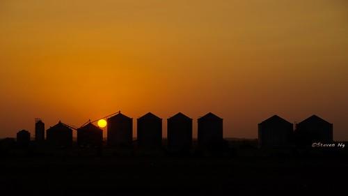 texassky sanmarcosoutletmall photomatixpro hdrphoto texassunset maxwell sanmarcos grainsilos sunset nikongp1 nikoncapturenx2 nikond750