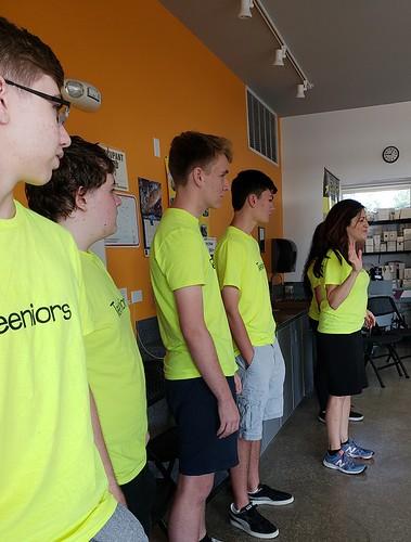 Teeniors Tech Camp