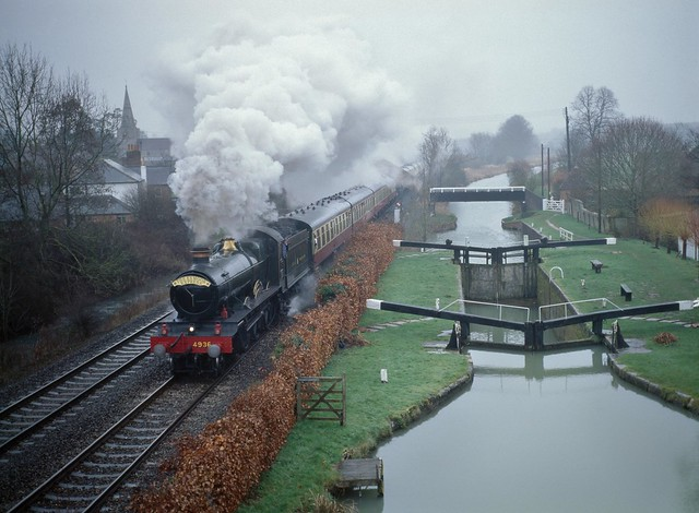Rainy Wiltshire morning.