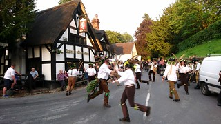 Domesday Morris Dancing at the White Lion, Barthomley, Cheshire 4
